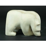Bear in Marble by Kakee Ningeosiaq