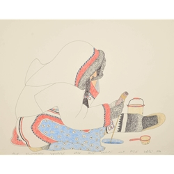 Drawing 999 by Kananginak Pootoogook
