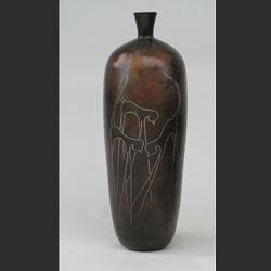 Vase with Cats 1
